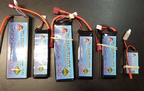 go to www.slingshotrcproducts.com  SLINGSHOT BATTERIES