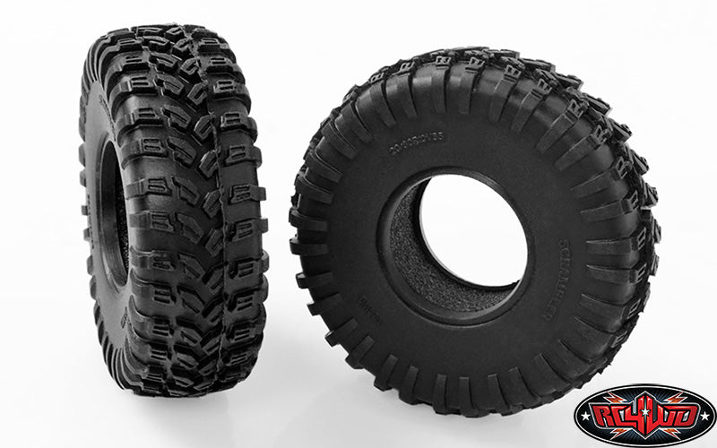 "ZT0146 RC4WD SCRAMBLER OFFROAD 1.0"" SCALE TIRES"