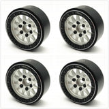 Treal 1.9 beadlock wheels (4P-Set) Alloy Crawler Wheels for 1:10 RC Scale Truck