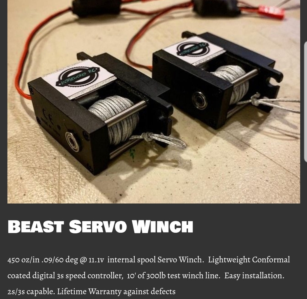 The Beast. Servo Winch