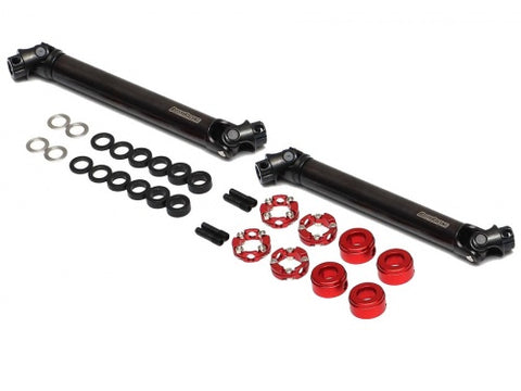 BRBD955003-AXI  Boom Racing BADASS™ HD Steel Center Drive Shaft Set for Axial SCX10 II RTR / SCX10 / Wraith / Wraith 1.9 / SMT10 Front & Rear (2) [Recon G6 Certified] for Axial Wraith 1.9