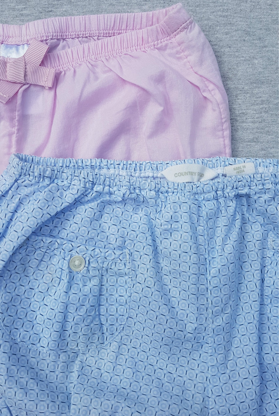 Country Road 2 x blue & pink bloomers, size 6m