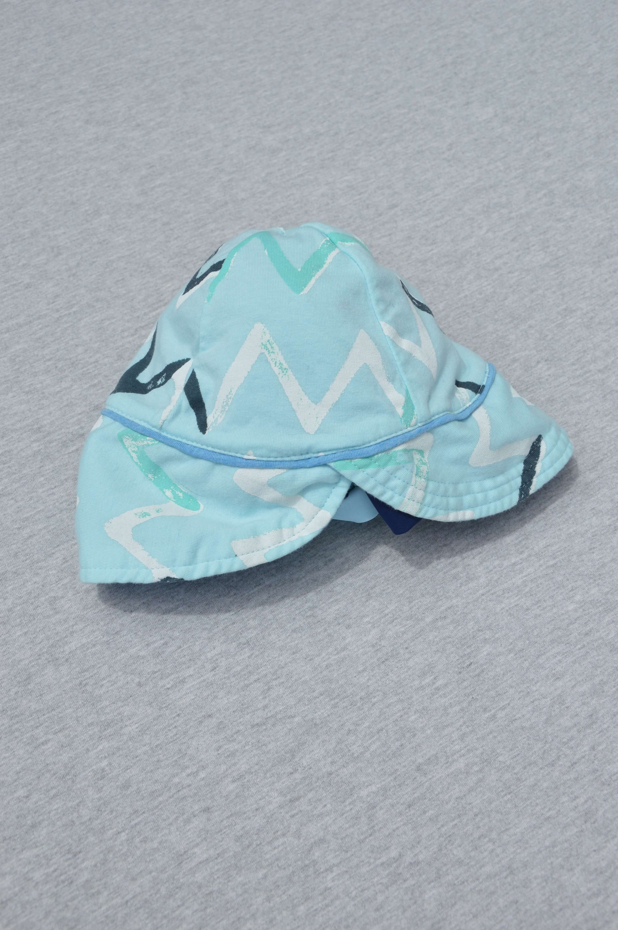 7ef0f7d7d81 Bonds - nearly new - turquoise jersey reversible sunhat