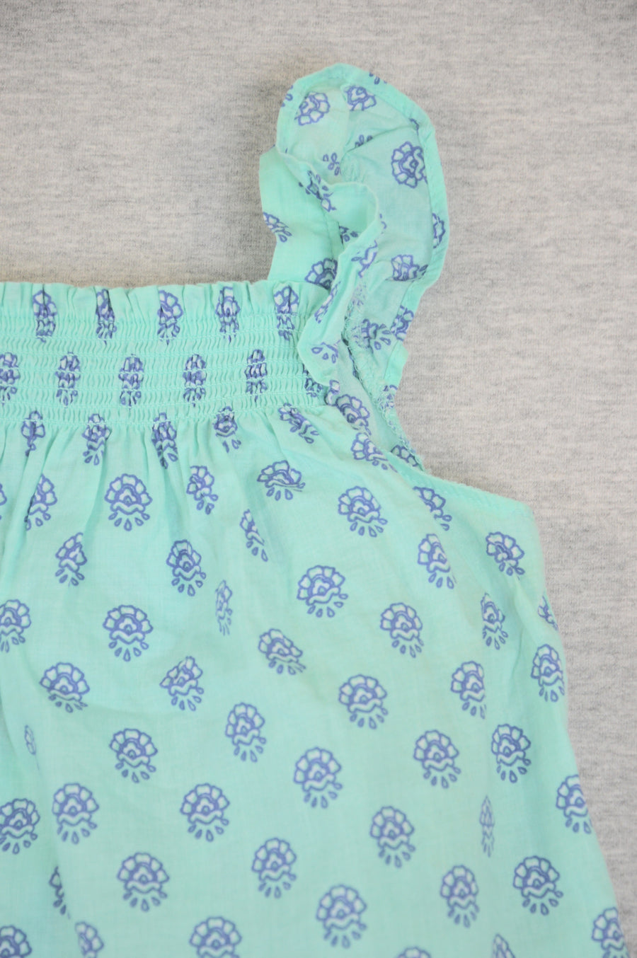 Carter's mint turquoise singlet & shorts set, size 12m