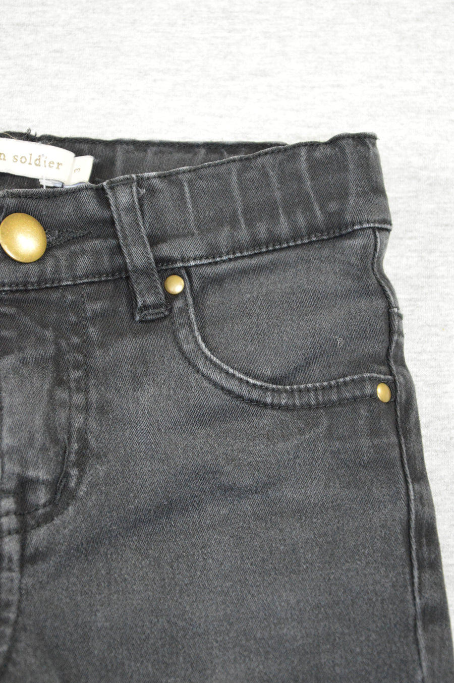 Carbon Soldier black jeans, size 3