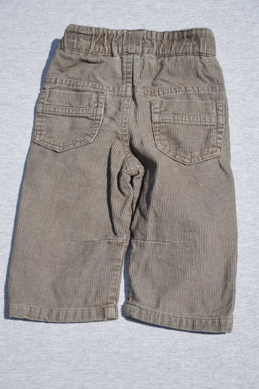 Little by Little brown corduroy pants, size 3-6m