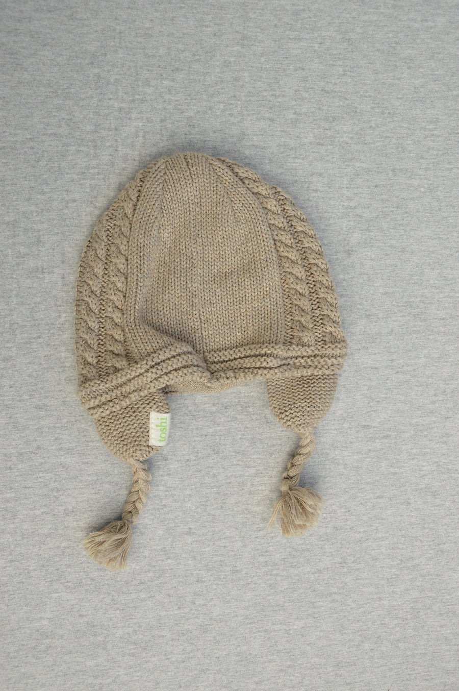 Toshi - nearly new - organic knit hat, size XS (0-3m)