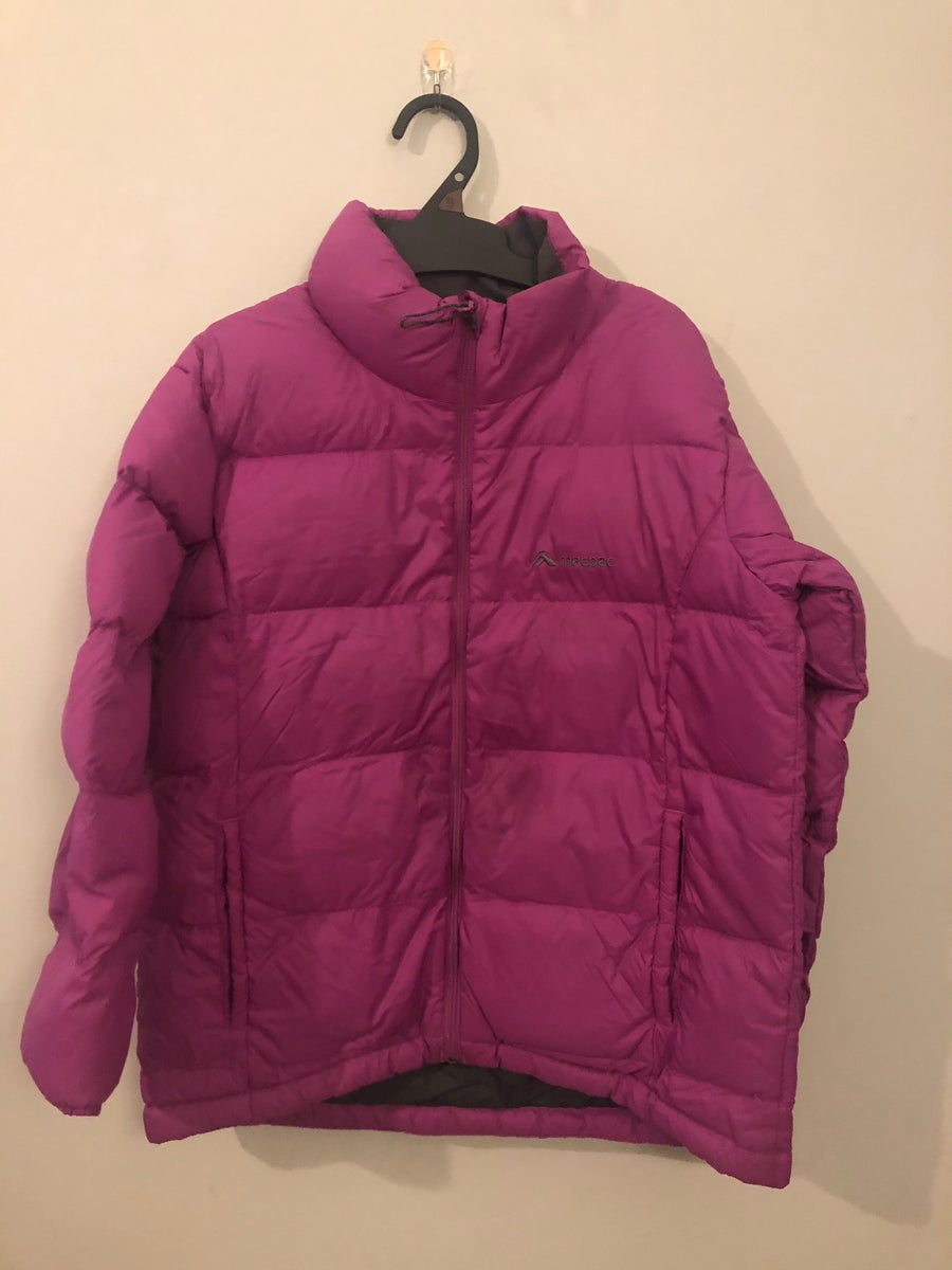 Macpac - Purple Windbreaker. Size 8y