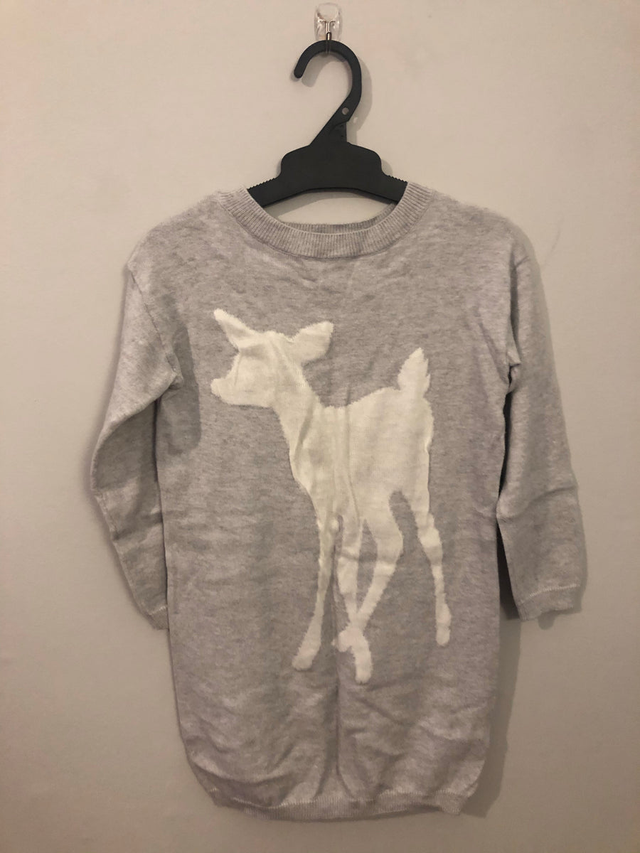 Witchery Deer Jumper - Grey