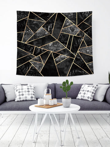 Art Deco Geometric Tapestry