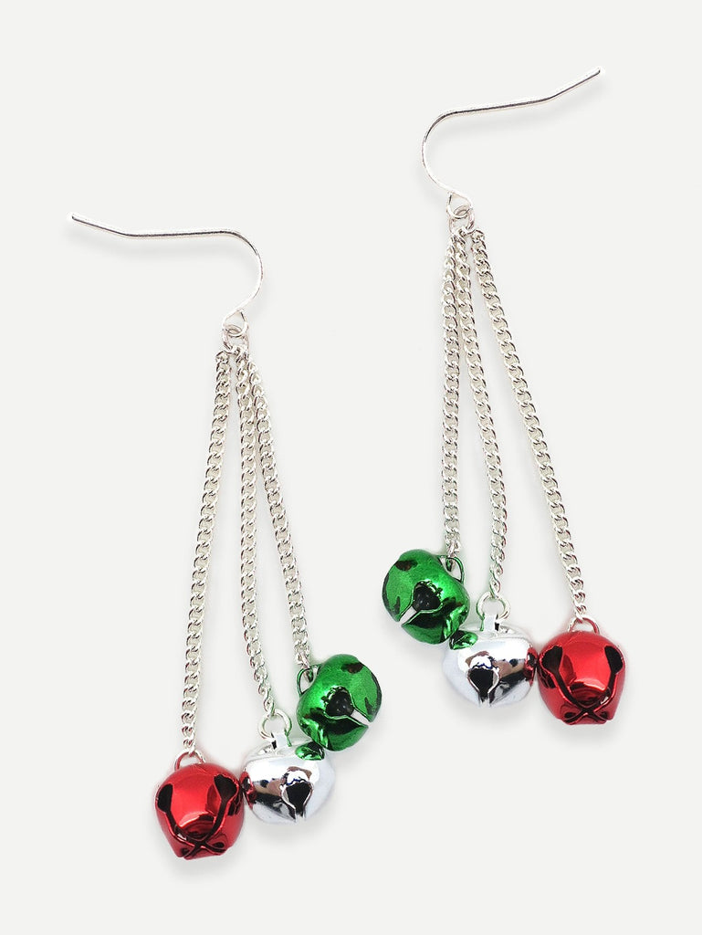 Jingle Bell Dangle Earrings