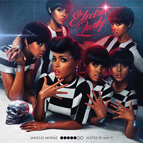 The Electric Lady Vinyl Record by Janelle Monae