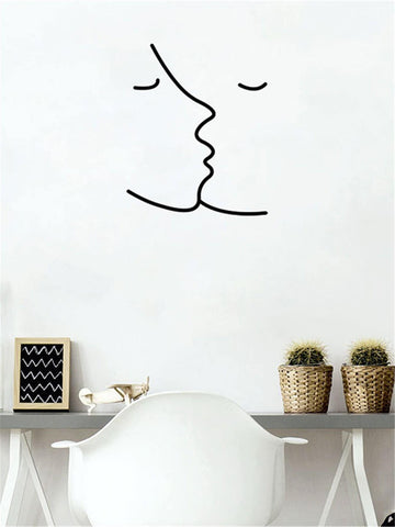 Kissy Face Wall Decal