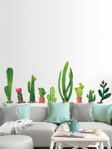 Cactus Wall Decal Set