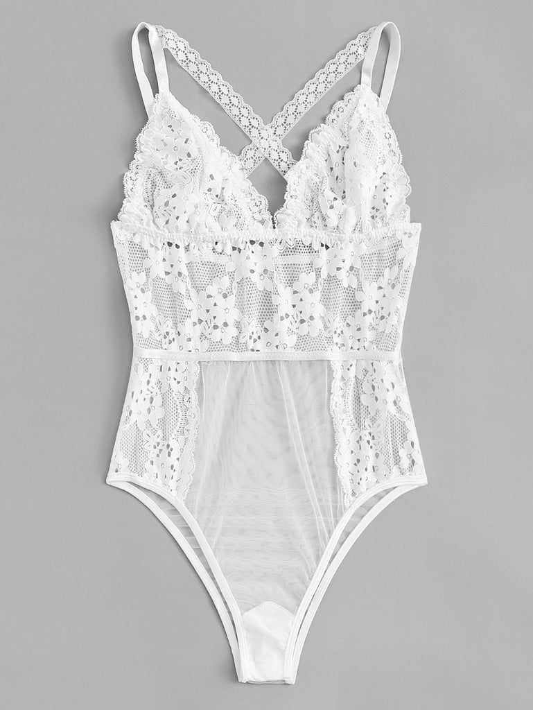 Holiday Collection Snowflake Teddy Bodysuit