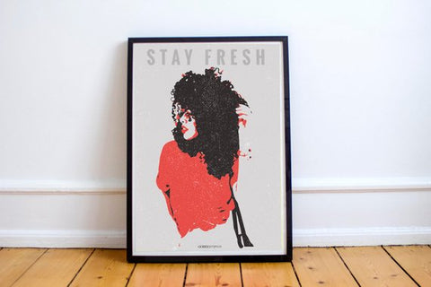 Stay Fresh Art Print by Godly Gorgeous