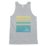Unisex Horizon Tank-Grey