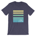 Unisex Horizon T-shirt-Navy