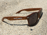 Wood Print Sunglasses