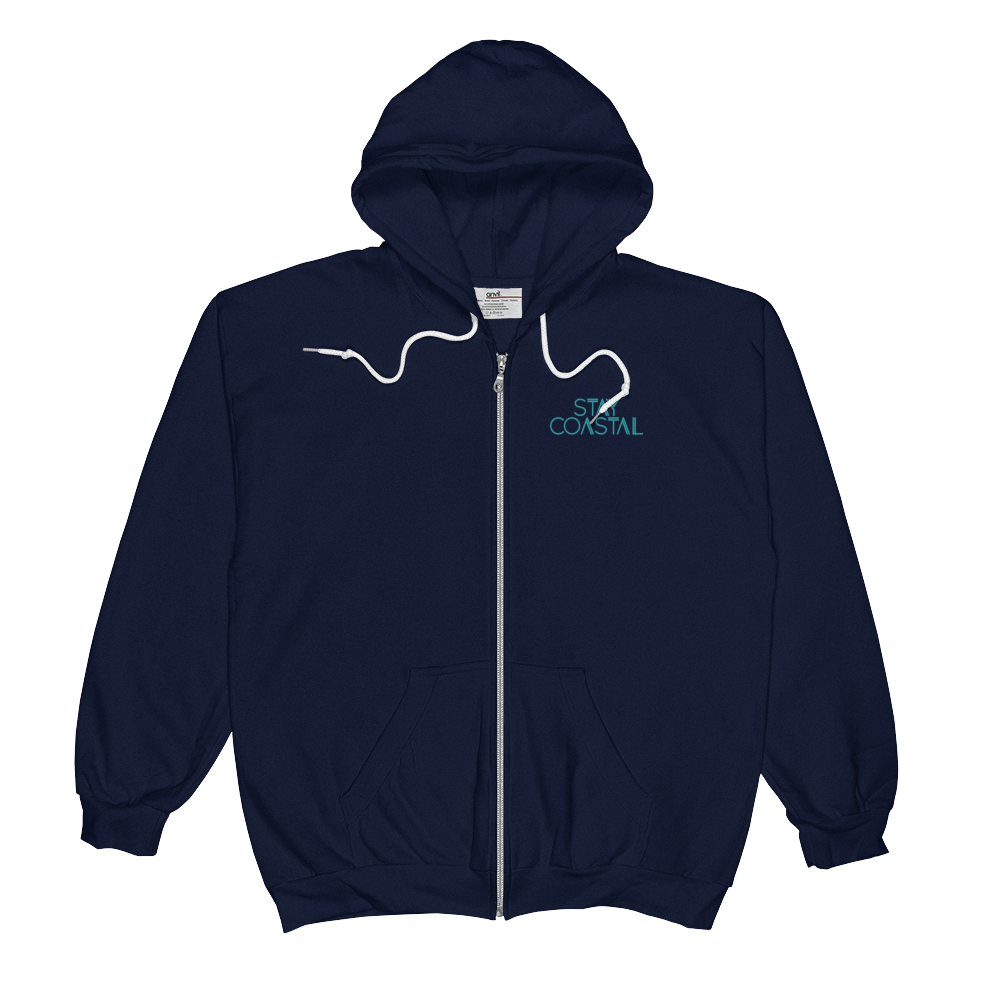 Coast to Coast Navy Zip Up