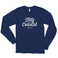 Navy Long Sleeve Script