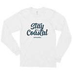 White Long Sleeve Script