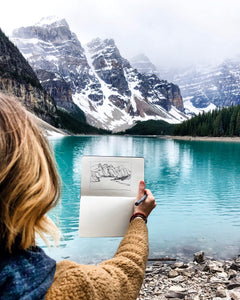 Sketching While You Travel