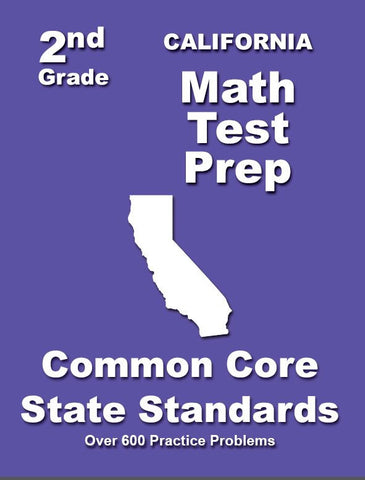 2nd Grade California Common Core Math - TeachersTreasures.com