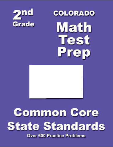 2nd Grade Colorado Common Core Math - TeachersTreasures.com