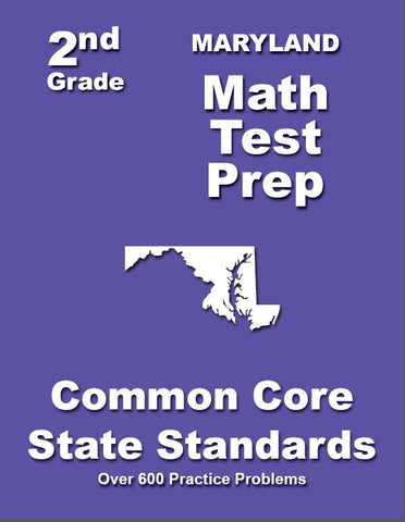 2nd Grade Maryland Common Core Math - TeachersTreasures.com