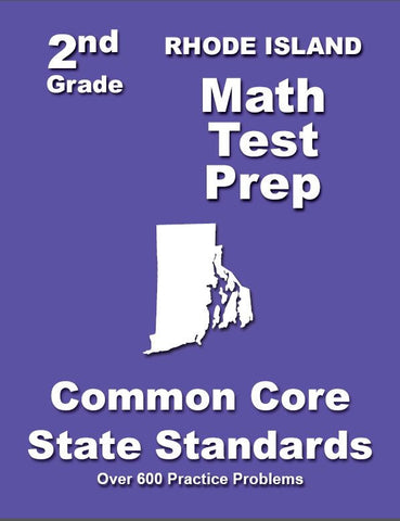 2nd Grade Rhode Island Common Core Math - TeachersTreasures.com
