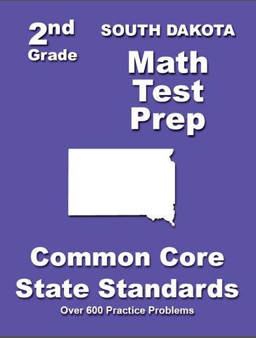 2nd Grade South Dakota Common Core Math - TeachersTreasures.com