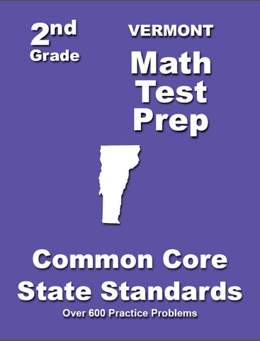 2nd Grade Vermont Common Core Math - TeachersTreasures.com