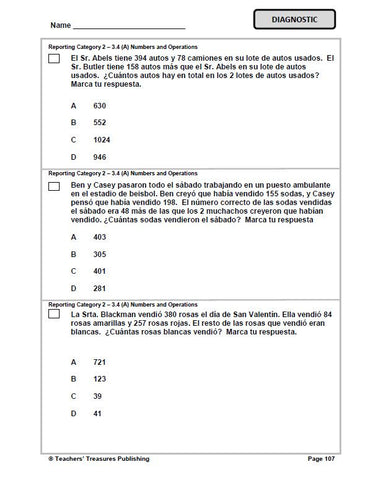 3Rd Grade Math Test Worksheets for all | Download and Share ...