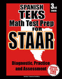 3rd Grade STAAR Math Test Prep Spanish Version - TeachersTreasures.com