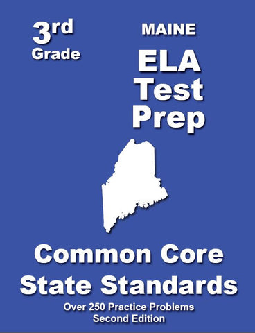 3rd Grade Maine Common Core ELA - TeachersTreasures.com