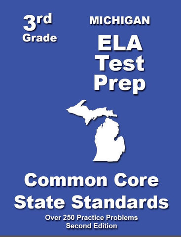 3rd Grade Michigan Common Core ELA- TeachersTreasures.com
