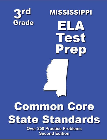 3rd Grade Mississippi Common Core ELA- TeachersTreasures.com