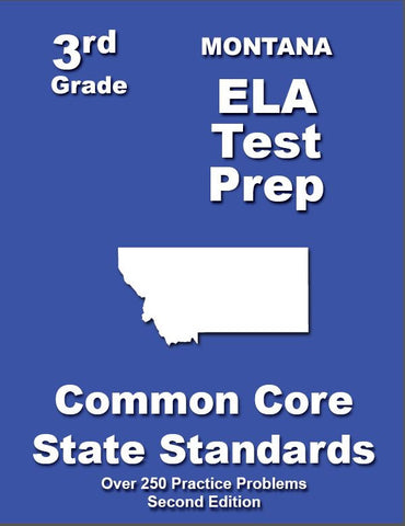 3rd Grade Montana Common Core ELA- TeachersTreasures.com