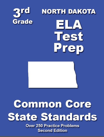 3rd Grade North Dakota Common Core ELA - TeachersTreasures.com