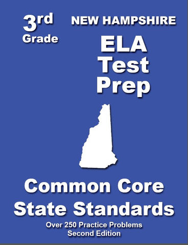 3rd Grade New Hampshire Common Core ELA- TeachersTreasures.com