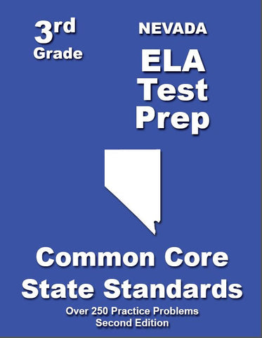 3rd Grade Nevada Common Core ELA- TeachersTreasures.com