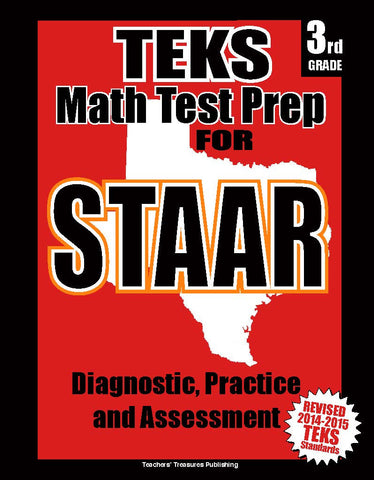 3rd Grade STAAR Math Test Prep - TeachersTreasures.com