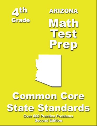 4th Grade Arizona Common Core Math - TeachersTreasures.com