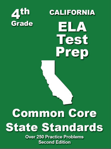 4th Grade California Common Core ELA - TeachersTreasures.com