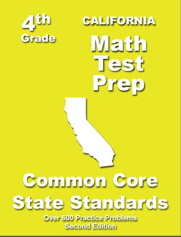 4th Grade California Common Core Math - TeachersTreasures.com