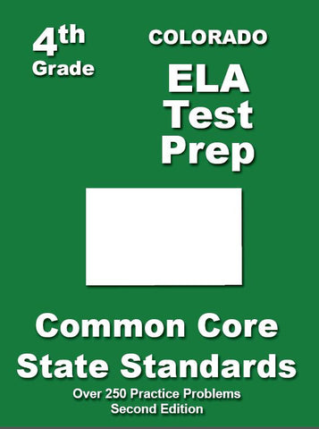 4th Grade Colorado Common Core ELA - TeachersTreasures.com