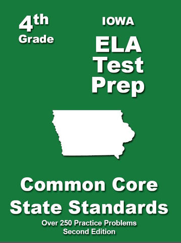 4th Grade Iowa Common Core ELA - TeachersTreasures.com