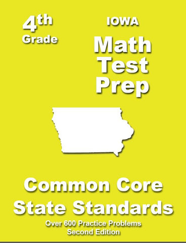 4th Grade Iowa Common Core Math - TeachersTreasures.com