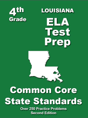 4th Grade Louisiana Common Core ELA - TeachersTreasures.com